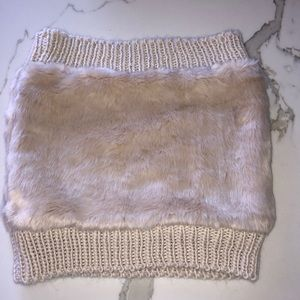 Off white cashmere scarf NWOT